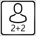 ubytovanie pre 2-4 osoby