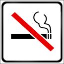 nefajčiarsky objekt